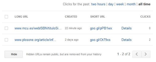 Google url shortener 3